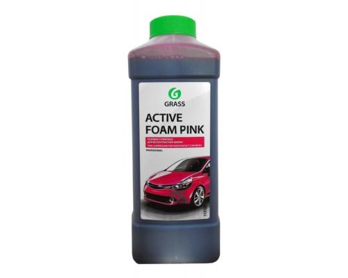 Авто шампунь Grass Active Foam Pink