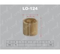 Фильтр масляный Lynx LO-124