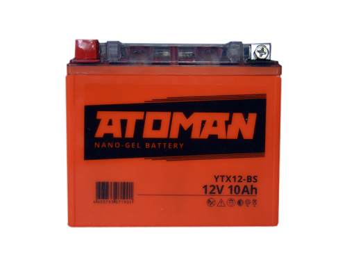 Аккумулятор Atoman 12v 10 A/ч