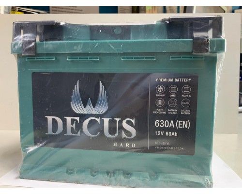 Аккумулятор Decus 60 A/ч 630 Пуск