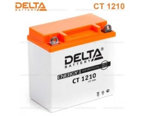 Аккумулятор Delta CT 1210 (12V / 10Ah) [YB9A-A, YB9-B,12N9-4B-1]