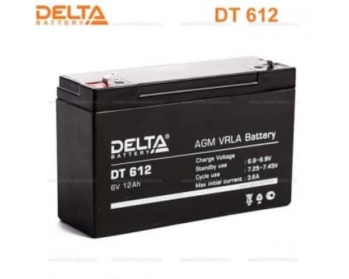 Аккумулятор DELTA BATTERY DT 612 6V 12Ah