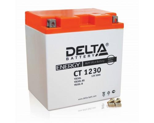 Аккумулятор DELTA BATTERY YTX30-BS 12V 30Ah