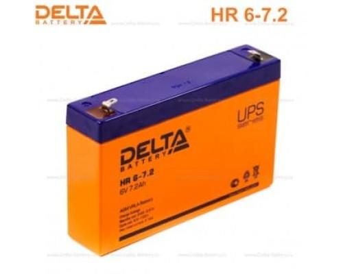 Аккумулятор DELTA BATTERY HR 6V 7.2Ah