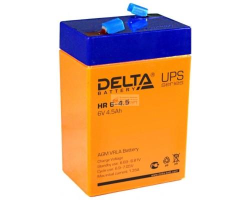 Аккумулятор Delta 6v 4.5 A/ч