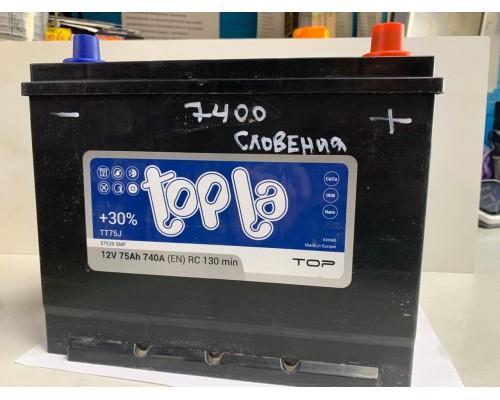 Аккумулятор Topla Top JIS Азия 75Ah 740 Пуск