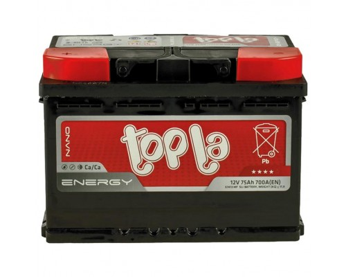 Аккумулятор Topla Energy 75 А/ч 700 Пуск