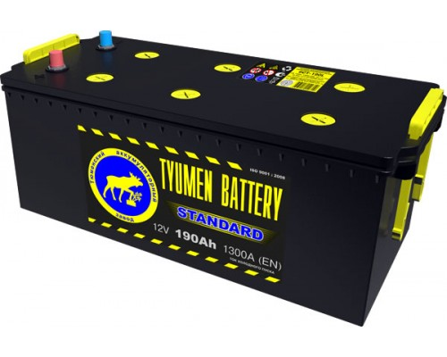 Аккумулятор Тюмень 190 а/ч 1300 пуск
