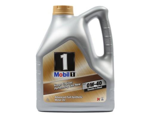 Масло моторное Mobil 0w-40 4л