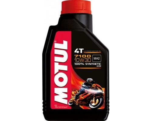 Масло моторное синтетическое Motul 7100 4T 10W-30 (1л)