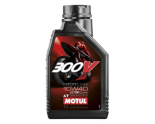 Масло моторное 300V FACTORY LINE ROAD RACING 10W-40 (1л)