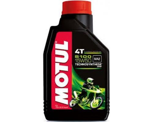 Масло моторное полусинтетическое Motul 5100 4T 10W-50 (1л)
