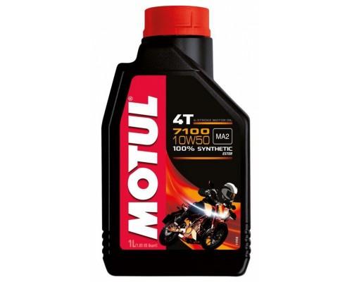 Масло моторное синтетическое Motul 7100 4T 10W-50 (1л)