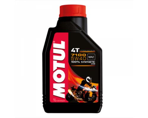 Масло моторное синтетическое Motul 7100 4T 5W-40 (1л)