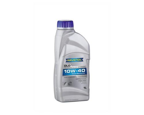 Масло моторное полусинтетическое Ravenol DLO 10W-40 (1л)