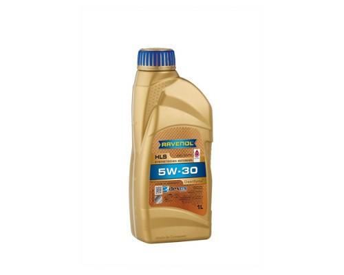 Масло моторное синтетическое Ravenol HLS 5W-30 (1л)