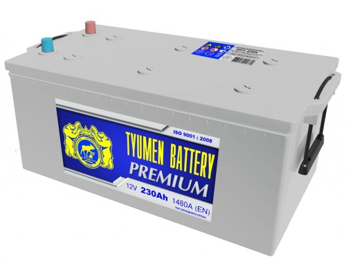Аккумулятор Тюмень Премиум 230 а/ч  1480 пуск
